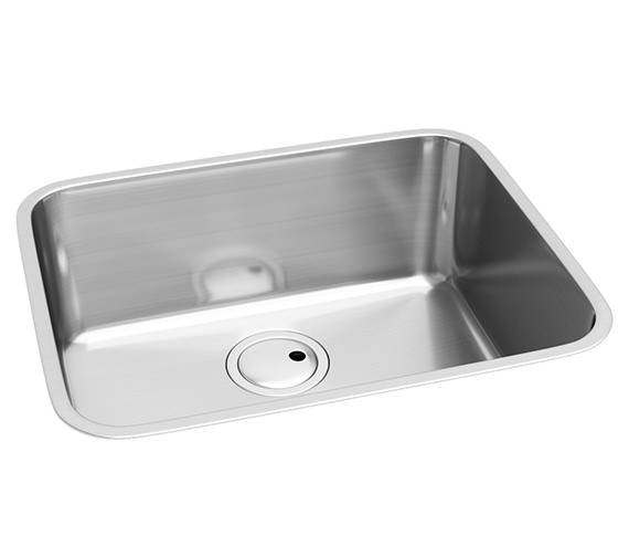 Abode Matrix R50 One Bowl Large Kitchen Sink - AW5015