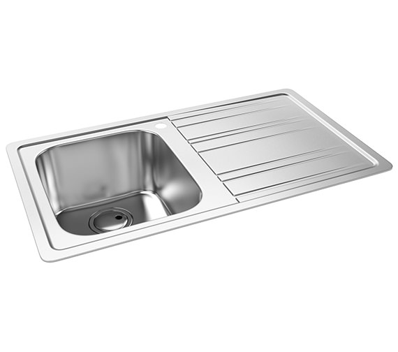 Abode Kode 1.0 Bowl Kitchen Sink AW5037 - AW5038