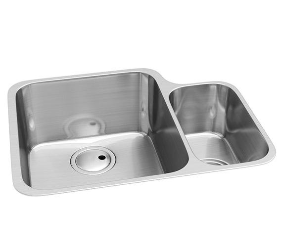 Abode Matrix R50 1.5 Bowl Kitchen Sink AW5016 - AW5017
