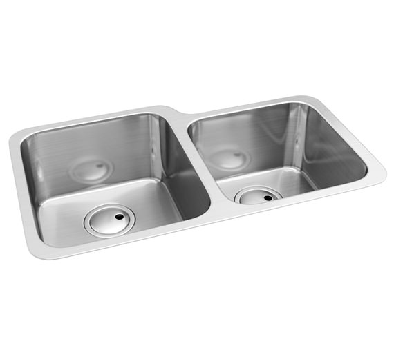 Abode Matrix R50 1.75 Bowl Kitchen Sink - AW5018
