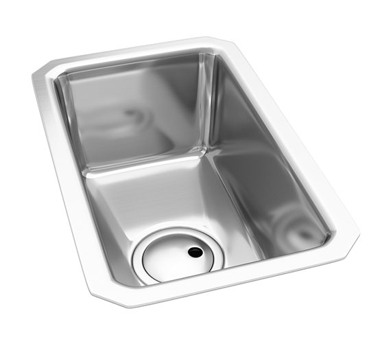 Abode Matrix R25 Half Bowl Kitchen Sink - AW5001