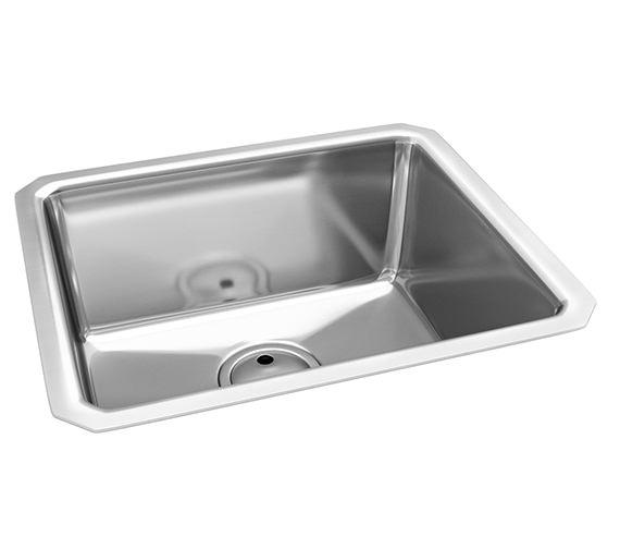 Abode Matrix R25 One Bowl Kitchen Sink 530 x 450mm - AW5003
