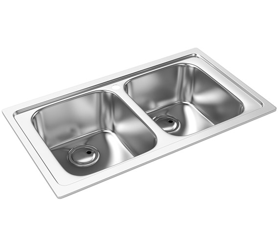 Abode Kode 2.0 Kitchen Sink With No Drainer - AW5043