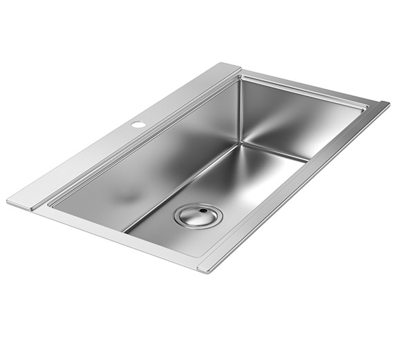 Abode Logik 1.0 Bowl Kitchen Sink - AW5021