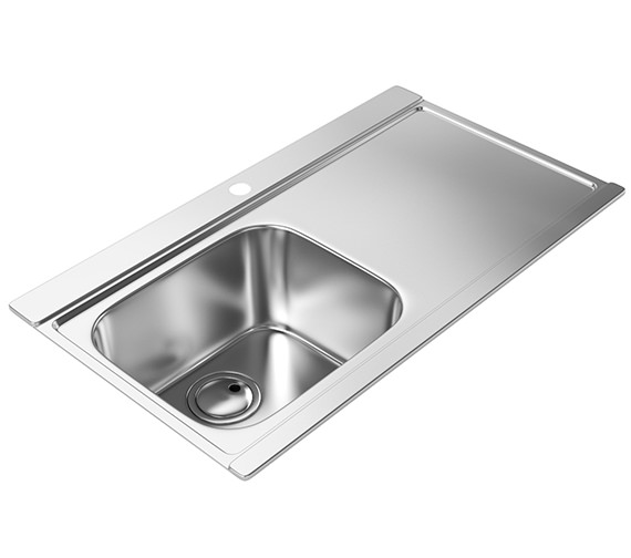 Abode Maxim One Bowl Kitchen Sink - AW5033