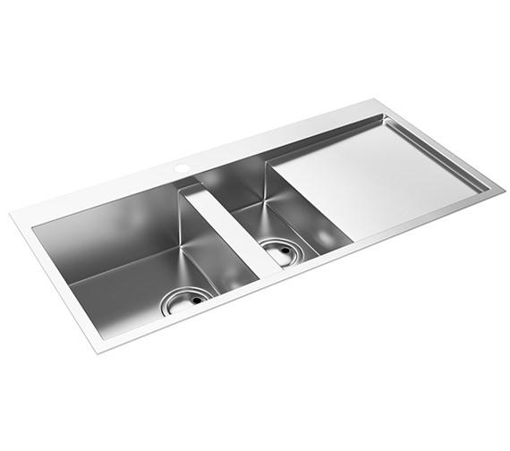 Abode Metrik 1.5 Bowl Kitchen Sink - AW5025 - AW5026