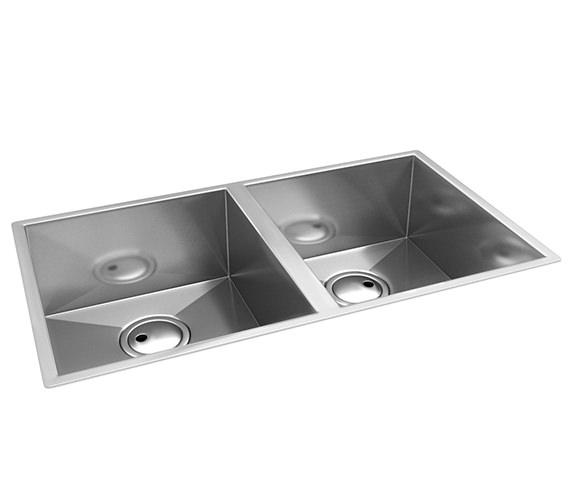 Abode Matrix R0 2.0 Bowl Stainless Steel Kitchen Sink