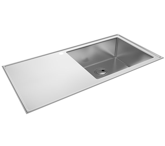 Abode Theorem One Bowl  Kitchen Sink - AW5027 - AW5028