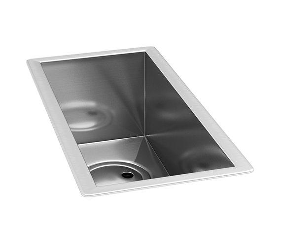 Abode Matrix R0 Stainless Steel Undermount Half Bowl Kitchen Sink