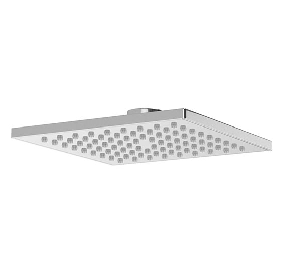 Abode ABS Square 200mm Showerhead - AB2467