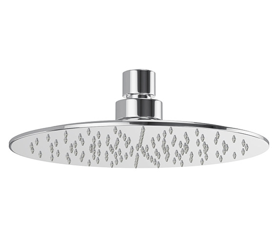Abode Storm Slimline Circular Showerhead - AB2464