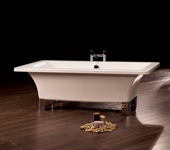 Royce Morgan Clarence Freestanding Bath 1785 x 785mm With Chrome Feet