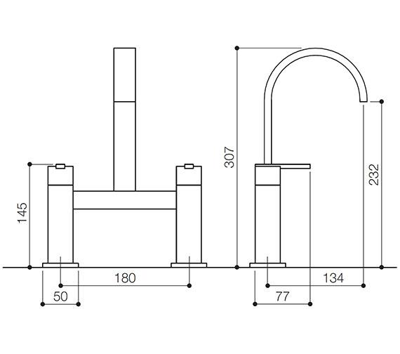 Technical drawing QS-V31004 / IFL015