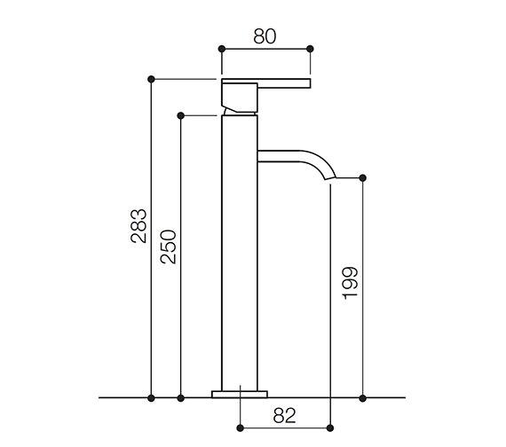 Technical drawing QS-V31011 / IFL069