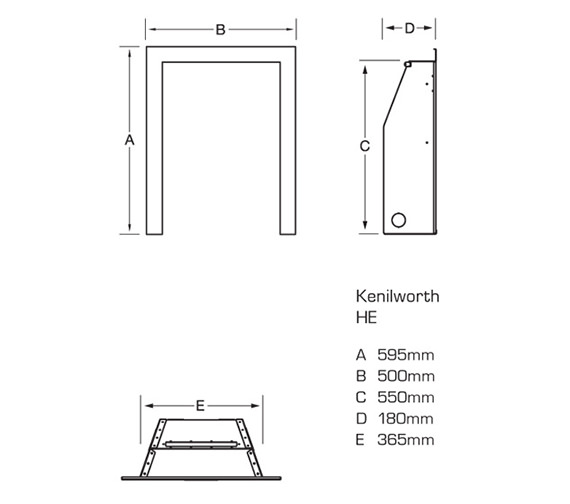 Technical drawing QS-V39747 / FRDC14MN