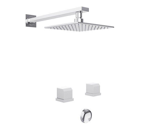 Abode Extase Thermostatic 2 Hole Bath Overflow Filler Kit - AB3087