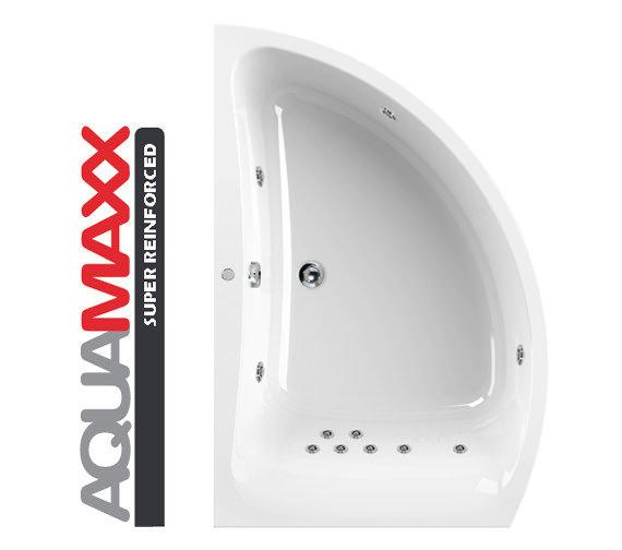 Aquaestil Comet Aquamaxx 1500 x 1000mm 11 Jets Left Hand Whirlpool Bath