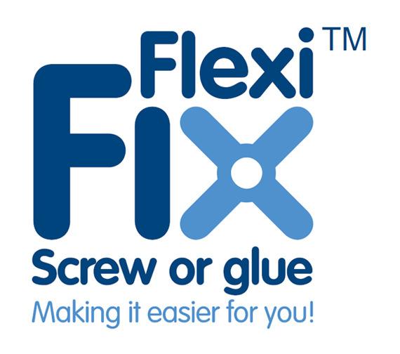 Alternate image of Croydex Brompton Flexi-Fix Toilet Roll Holder - QM571141
