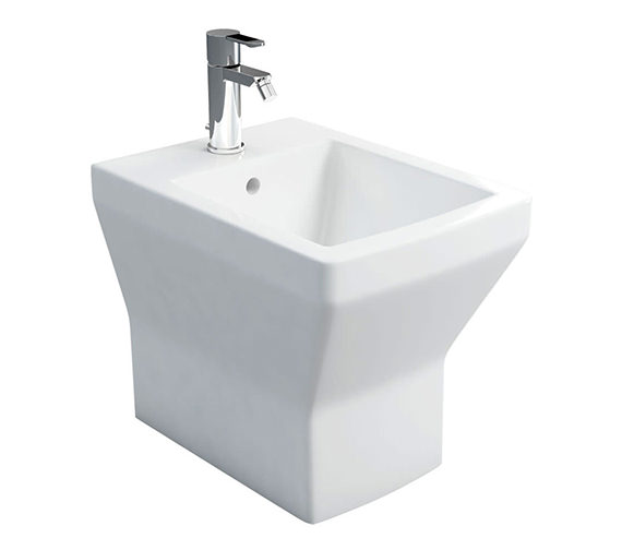 Britton Cube S20 Back To Wall Bidet