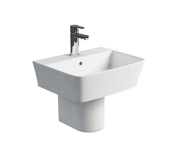 Britton Fine S40 Basin With 1 Tap Hole -  500mm - 401974