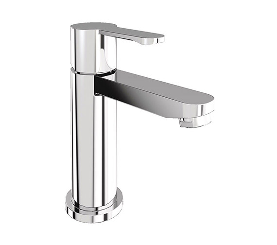 Britton Crystal Mini Basin Mixer Tap Chrome