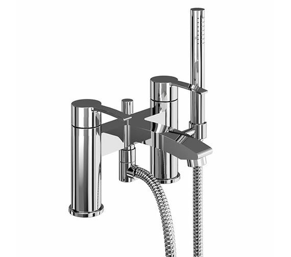 Britton Sapphire Bath Shower Mixer Tap Chrome - CTA16