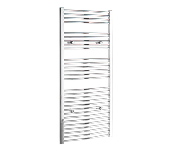 Tivolis Curved 600 x 1400mm Chrome Towel Rail - CURCR60140