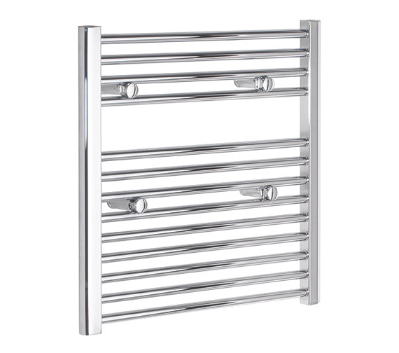 Tivolis Straight 600 x 600mm Chrome Towel Rail - STRCR6060