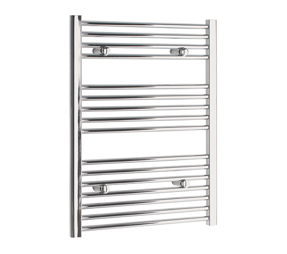 Tivolis Straight Towel Warmer In Chrome Finish - 700 x 800mm