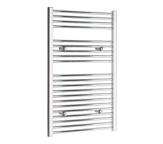 Tivolis Straight Towel Warmer In Chrome Finish - 500 x 1000mm