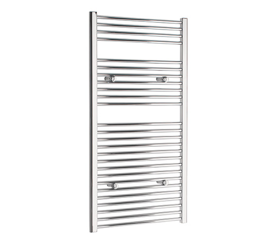 Tivolis Straight Towel Warmer In Chrome Finish - 600 x 1200mm