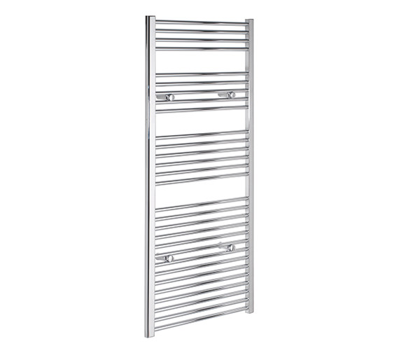 Tivolis Straight 300 x 1400mm Chrome Towel Rail - STRCR30140