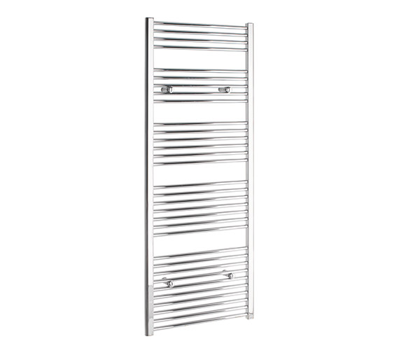 Tivolis Straight 750 x 1600mm Chrome Towel Rail - STRCR75160