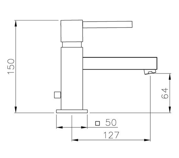 Technical drawing QS-V39312 / AB1271