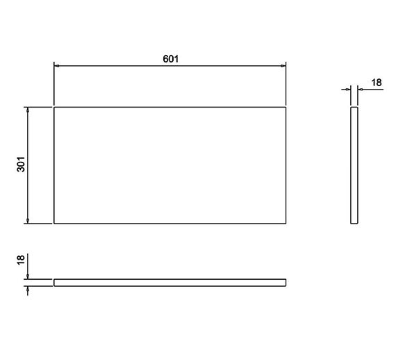 Technical drawing QS-V17476 / T31W