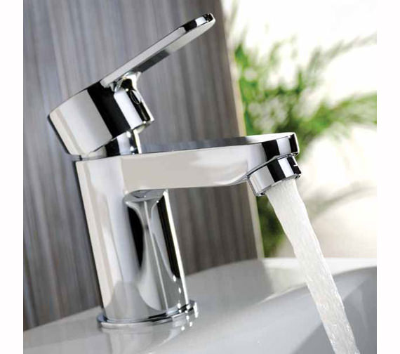 Additional image of Abode Debut Monobloc Mini Basin Mixer Tap Chrome - AB1551