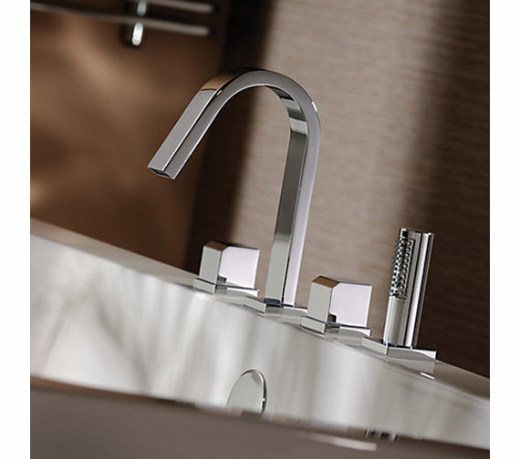 Abode Extase Thermostatic 4TH Bath Shower Mixer Tap - AB3027