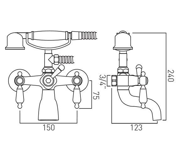 Technical drawing QS-V12054 / KEN-220/CD-C/P