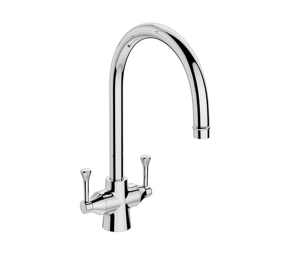 Abode Gosford Monobloc Kitchen Mixer Tap Chrome - AT1019