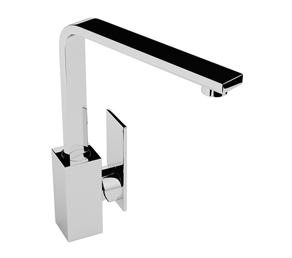 Abode New Media Chrome Kitchen Mixer Tap