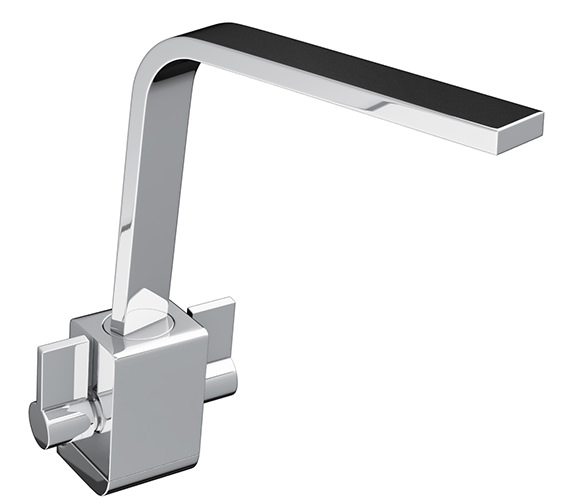Abode Verso Chrome Monobloc Kitchen Mixer Tap