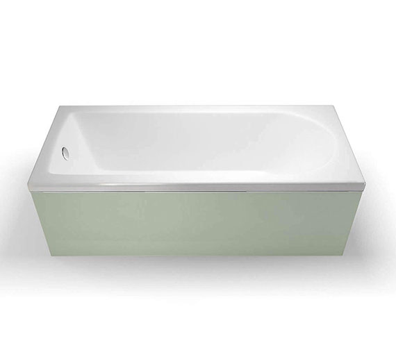 Britton Cleargreen Reuse 1500 x 700mm Single Ended Bath