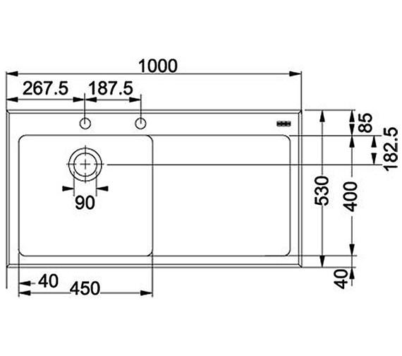Technical drawing QS-V34241 / 1010052390