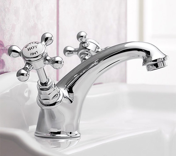 Additional image of Sagittarius Butler Monobloc Basin Mixer Tap With Pop-Up Rod Waste