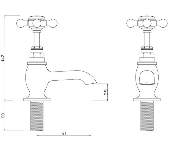 Technical drawing QS-V30253 / BU/101/C