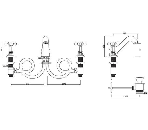 Technical drawing QS-V30256 / BU/107/C