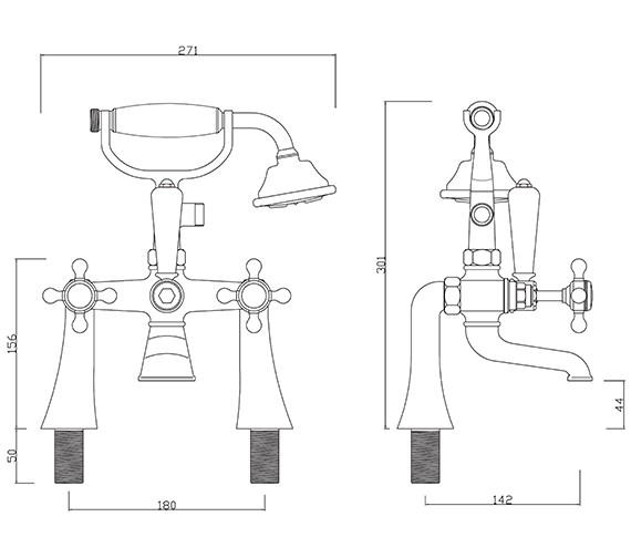 Technical drawing QS-V30262 / BU/105/C