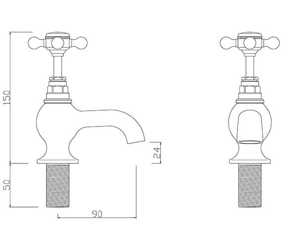 Technical drawing QS-V30257 / BU/102/C