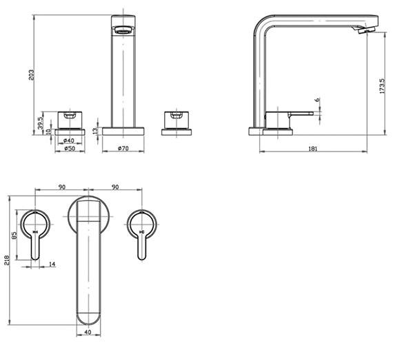 Technical drawing QS-V30183 / PL/111/C