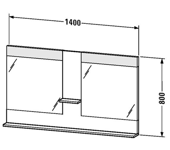 Technical drawing QS-V4389 / VE736101818